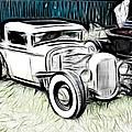 Custom Hot Rod Pickup by Steve McKinzie