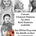 Custom Portrait Commissions by Kate Sumners