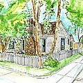 House Portrait Sample by Lizi Beard-Ward