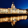 Customs House At Night / Dublin by Barry O Carroll