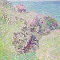Customs House At Varengeville by Claude Monet