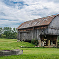 Cut Out Barn by Guy Whiteley