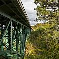Cut River Bridge 3 A by John Brueske