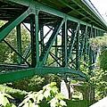 Cut River Bridge Near Epoufette Michigan by Dave Zuker