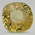 Cut Yellow Sapphire Gemstone by Dorling Kindersley/uig