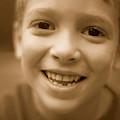 Cute Boy Smiling by Jill Wachter