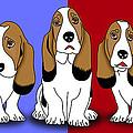 Cute Dogs 2 by Mark Ashkenazi