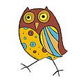 Cute Owl by Svetlana Peskin