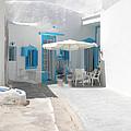 Cute Santorini Island Hause  by Colette V Hera  Guggenheim