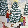 Cutting Our Tree by Linda Mears