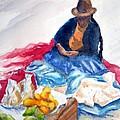 Cuzco Market by Marsha Elliott