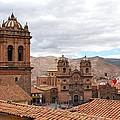 Cuzco Plaza Del Armas by Cascade Colors