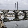 Cv - Susquehanna River Bridge Harrisburg  Pennsylvania by Bill Cannon
