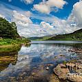 Cwellyn Lake Wales by Adrian Evans