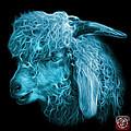 Cyan Angora Goat - 0073 F by James Ahn