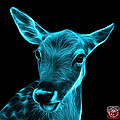 Cyan Deer - 0401 F by James Ahn