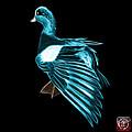 Cyan Fractal Wigeon 7702 - Bb by James Ahn
