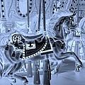 Cyan Horse by Rob Hans