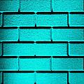 Cyan Wall by Semmick Photo