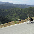 Cycling In Greek Mountains by David McLain