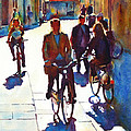 Cycling In The City by Graham Berry