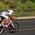 Cycling Time Trial by Kevin Desrosiers