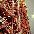 Cyclone Roller Coaster - Coney Island by Jim Zahniser