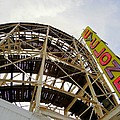 Cyclone Roller Coaster by Ed Weidman