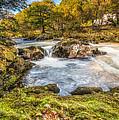 Cyfyng Falls by Adrian Evans