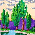 Cypress River by Roberto Prusso