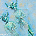 Cyprus Gods Of Trade by Augusta Stylianou