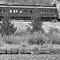 Cyrus K  Holliday Private Rail Car Bw by James BO Insogna