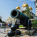 Czar Cannon Of Moscow Kremlin - Featured 3 by Alexander Senin