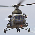 Czech Air Force Mi-171 Hip Helicopter by Timm Ziegenthaler