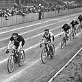 Czech Bicycle Race by Underwood Archives