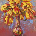 Czech Tulips by Lynette Yencho