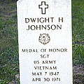 D. H. Johnson - Medal Of Honor by Paul W Faust -  Impressions of Light