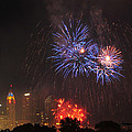 D21l163 Red White And Boom Photo by Ohio Stock Photography
