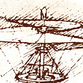 Da Vinci's Helicopter by Sheila Terry/science Photo Library
