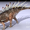 Dacentrurus Dinosaur, Artwork by Jose Antonio Pe??as