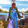 Daddy's Little Girls by Sonja Griffin Evans
