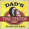 Dad's Tire Center by Debbie DeWitt