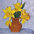 Daffodils by Robie Benve