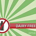 Dairy Free Banner by Tim Hester