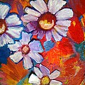 Daisies And Strawberries 2014 by Sidra Myers