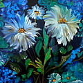 Daisies At Midnight by Jenny Lee