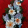 Daisies Lilacs And Forget Me Nots by Barbara Griffin