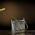 Daisy In A Chain Basket by Leah McDaniel