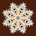 Daisy Mandala  12t by Variance Collections