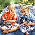 Dakotas Puppies by Jill Westbrook